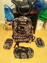 New napsack with three other matching one all for a low price