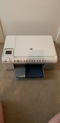 White and gray hp desktop printer Baton Rouge, 70820