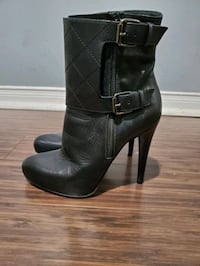 All Saints leather booties Brampton