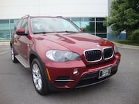 red BMW SUV ASHBURN