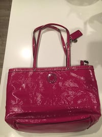 Pink authentic coach purse 3475 km