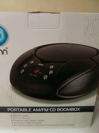 Bed side AM/FM CD player