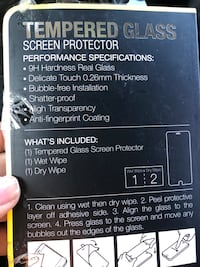 Tempered glass protection  Lakeside, 92040