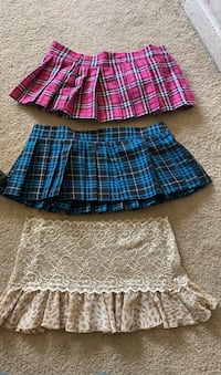 Small/medium school girl skirts