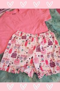 Pink and white floral skirt Piedmont, 36272