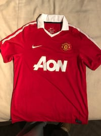 Nike Manchester United FC Jersey sz M