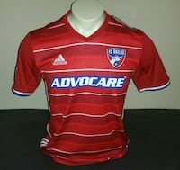 Adidas FC Dallas Home Jersey, Red, Size S  The Woodlands, 77380
