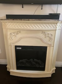 Antique white fireplace Fairview, 17339
