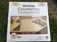 Rustoleum Countertops Transformation BRAND NEW covers 50 sq ft Pebble Ivory Color New Freedom, 17349