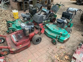 Misc commercial lawn mowers