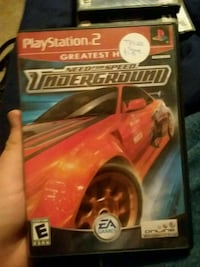 Need for Speed Underground for PS2 Colorado Springs, 80919