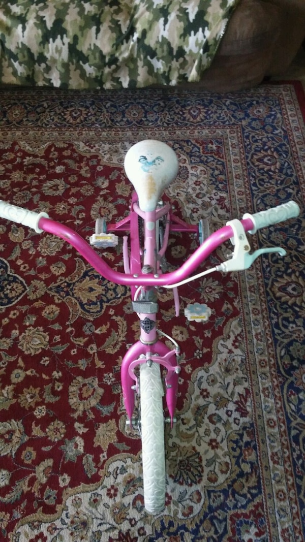 "Girls 12"" princesses bike 1"