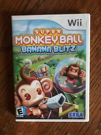 Super Monkey Ball Banana Blitz For Nintendo Wii Tested & Works. We also have several other games for multiple systems. If you are looking for anything else as well feel free to message and we will be happy to help.  Louisville, 40213