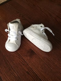 New baby Converse high tops, $50 obo Brampton, L7A 3P2