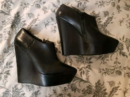 Aldo wedge booties sz 38