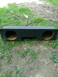 black and brown subwoofer enclosure Hopewell, 23860