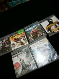 six assorted PS3 games Welland, L3B 1X6