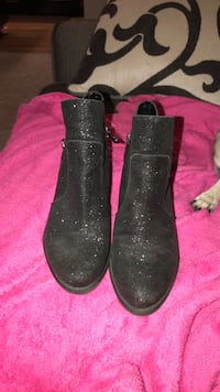Black sparkly boots  Clover, 29710