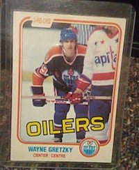Waney Gretzky hockey card mint condition  Surrey, V3R 1W7