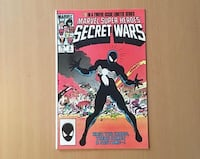 Spiderman secret war 8 1984 venom black costume marvel comic Pasadena, 91101