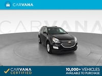 2017 Chevy Chevrolet Equinox suv LT Sport Utility 4D Black Brentwood