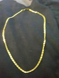 gold-colored chain necklace Westminster, 92683