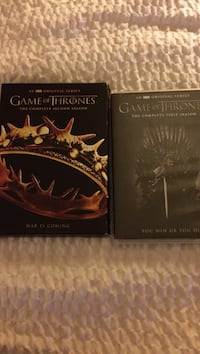 Game of thrones season one and two