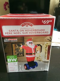 Inflatable Santa on hoverboard(brand new) Calgary, T2N 4T4