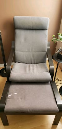 Poang Ikea chair with matching Footstool Richmond, V6Y 3Y5