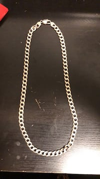 925-Stamped Silver Chain London, N6G 1K7