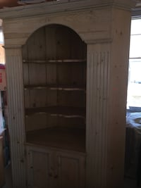 Antique corner unit. gorgeous piece.