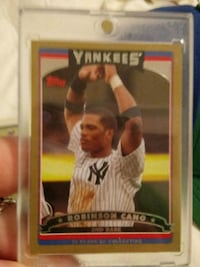 2005 numbered rookie Robinson Cano Rochester, 98579