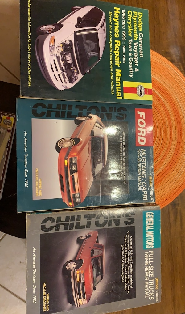 Chilton books 0