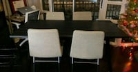 Dining Table + 4 Chairs   Toronto, M5V 3Y5