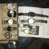 Top notch watches...1500 obo for lot Fort Erie, L2A 5T2