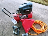 Husky air compressor with accessories - excellent  1156 mi