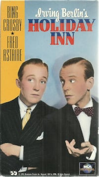 vhs Irving Berlin's Holiday Inn vhs Bing Crosby Fred Astaire EUC Newmarket