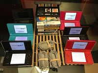 Nintendo dsi each with 3 games and charger Toronto, M9R 3Z1