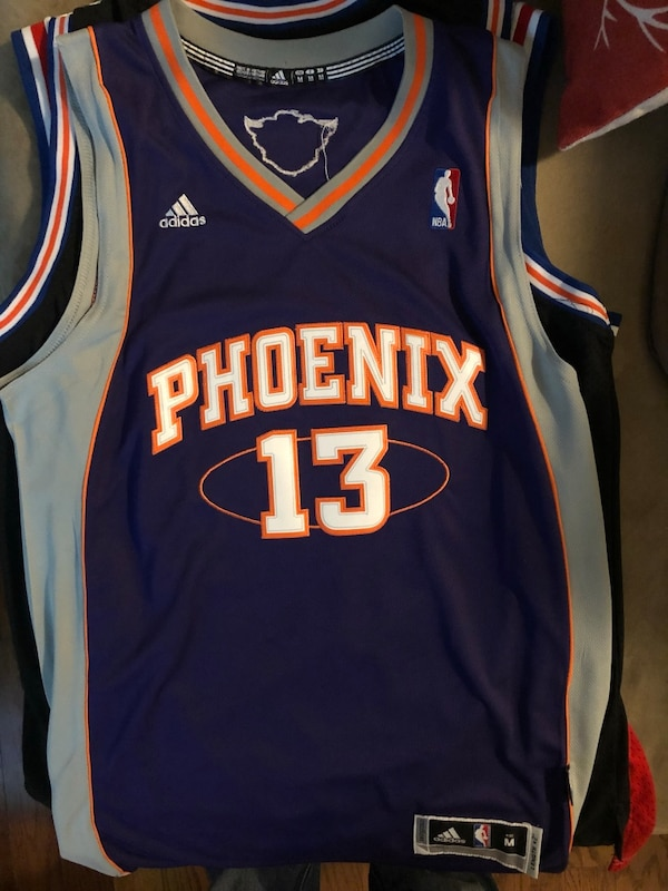 official photos 91f45 9f193 Used Steve Nash Medium NBA Phoenix Suns Jersey for sale in ...
