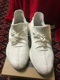 pair of white Adidas Yeezy Boost 350 Lawrenceville, 30045