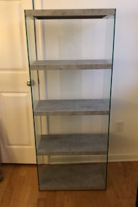 Glass Bookcase McLean, 22102