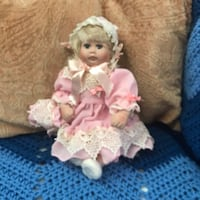 white and pink dressed doll Rockville, 20853