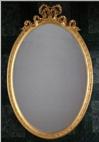 Carver's Guild - Gold Oval Bow Mirror Rockville, 20850