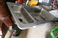 Kitchen sink with garbage disposal Laurel