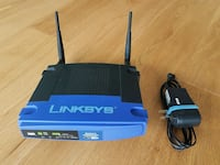 Wifi Router Linksys WRT54G with DD-WRT