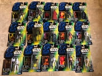 Star Wars Green Card Action Figures