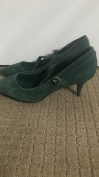 Brand New Green Suede Shoes Nanaimo, V9S 1J3