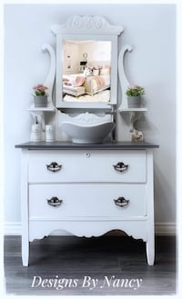 """Gorgeous 1930's 36"""" Solid Wood Bathroom Vanity!  Whitby, L1P 1L9"""