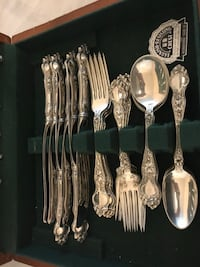 Sterling Silver Flatware Set Antique Bethesda, 20817