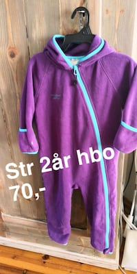 lilla zip-up jakke Skien, 3740